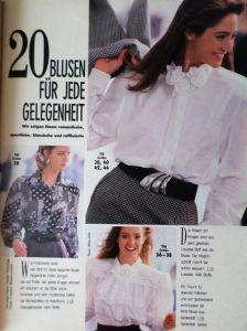 Burda 8/1988 v němčině