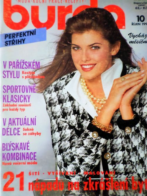 Burda 10/1991 v češtině