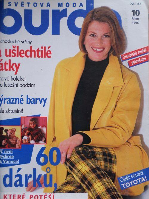 Burda 10/1996 v češtině