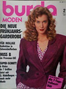 Burda 2/1989 v němčině