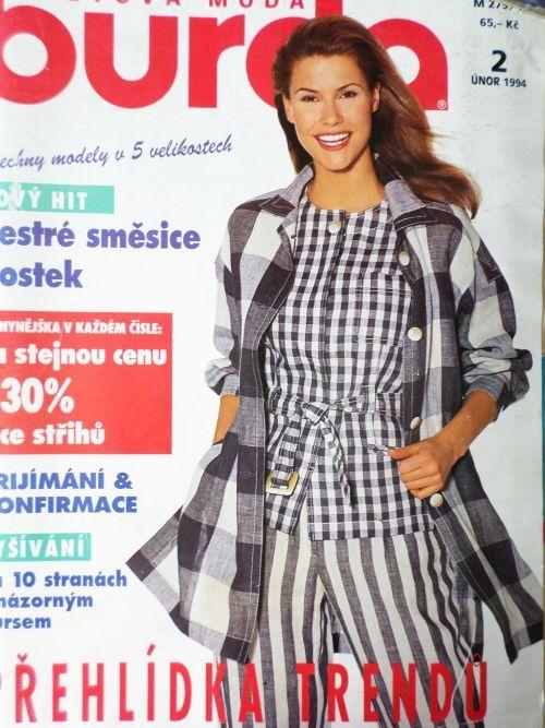 Burda 2/1994 v češtině