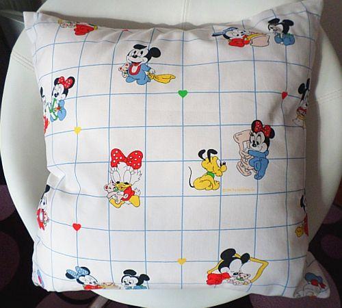 Povlak na polštář - bílý Disney