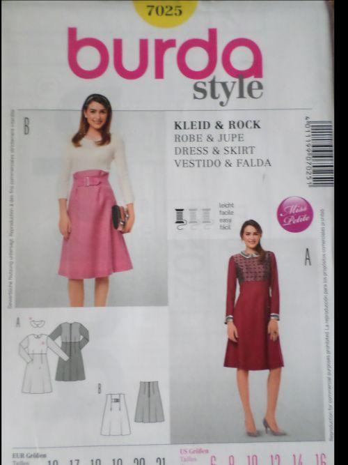 Střih BURDA - Dámské šaty a sukně