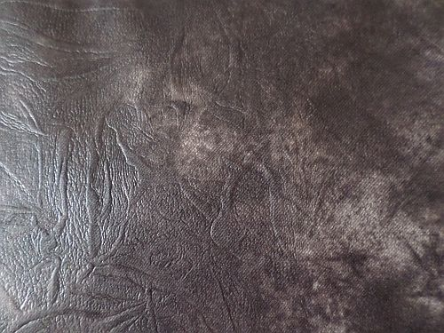 Adéla - tm. šedý melír - imitace kůže