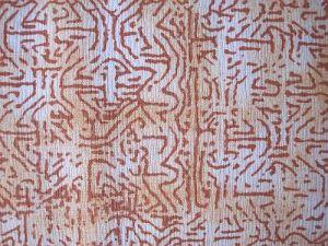 Dita - béžovorezavá halenková látka vzor