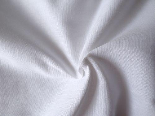 Ekona - bílé bavlněné plátno