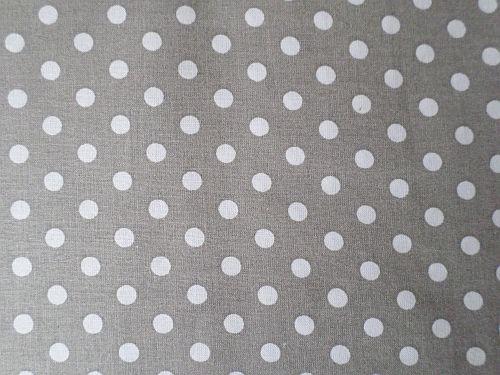 Grácie - šedobílá bavlna
