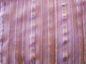 Jenifer - růžová prosvítající látka pruh
