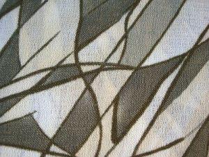 Jolana - zelená vzor