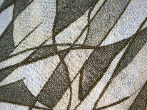 Šatovka - zelenobílá do kombinace