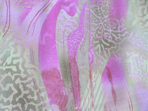 Kalika - růžová šatovka vzor