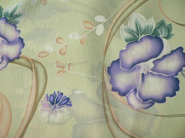 Květka - zelená květy