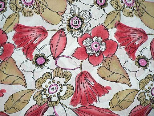 Květuška - červená šatovka