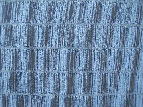 Libuška - modrošedá halenková látka