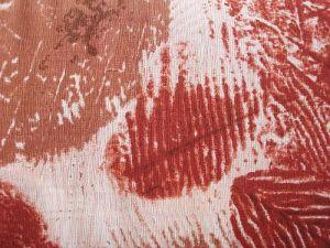 Listera - rezavá šatovka s listy