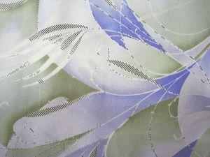 Nikita - modrozelená halenková látka