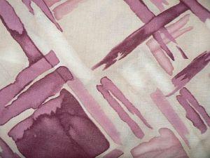 Ornela - béžovovínová šatová látka