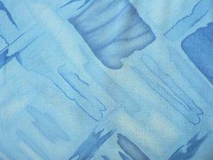 Ornela - modrá fáčovinová šatovka
