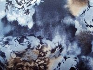 Petruška - modrá šatovka