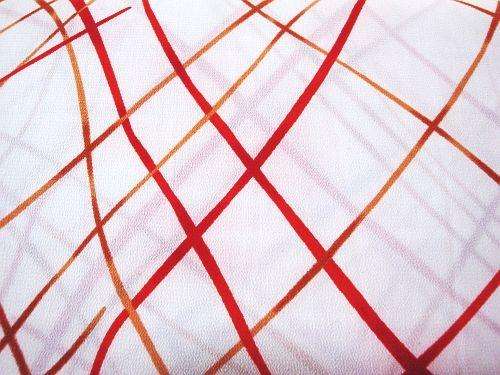 Rajka - bílá s červenými a žl. čarami