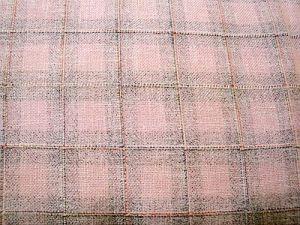 Šíla - sv. růžová kostýmová látka s kárem