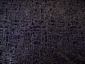 Sněhurka - černozlatý společenský úplet