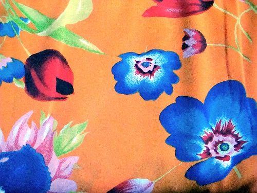 Štěpánka - oranžová květ