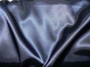 Světlana - tm. modrý elastický satén