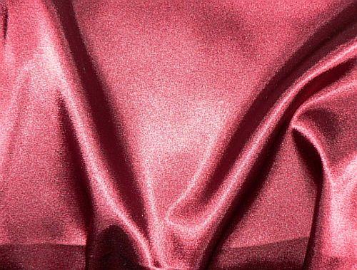 Světlana - vínový elastický satén