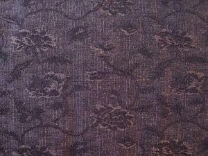 Žaneta - hnědočerná elastická látka