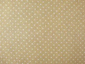 Arabka - žlutohnědá látka s malým puntíčkem