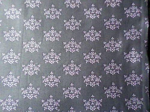 Aranka - šedobílá bavlna