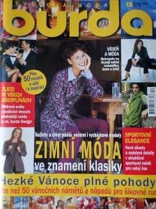 časopis Burda 12/1998 v češtině