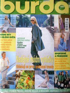 Burda 8/1999 v češtině