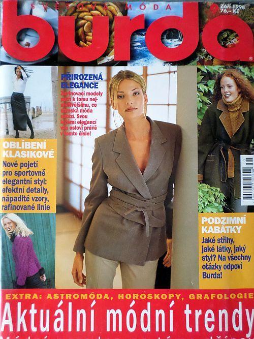 časopis Burda 9/1998 v češtině