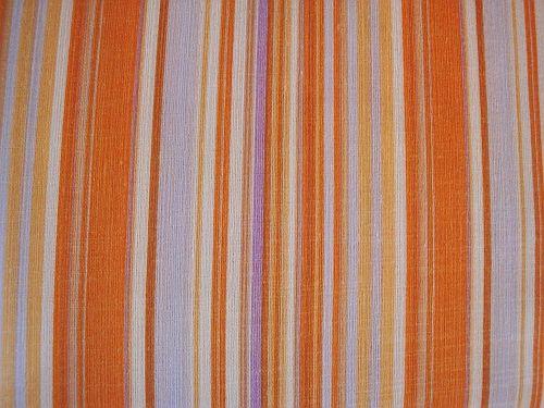 Šatovka - oranžová s proužky