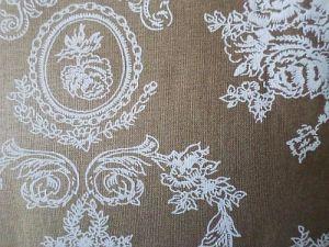 Kraslenka - béžovobílá bavlna