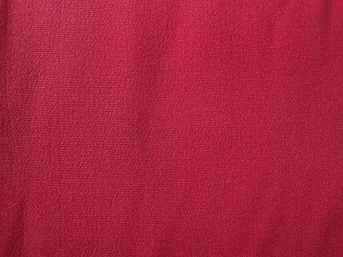 Lenička - červená letní kostýmová látka