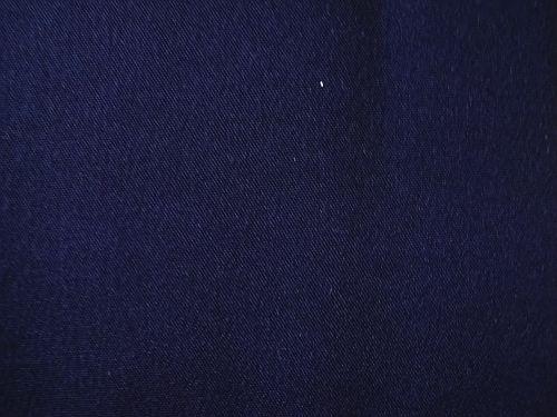Lenička - tm. modrá letní kostýmová látka