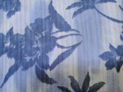 Odeta - modromodrá šatovka