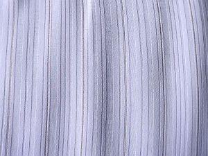 Popelka - fialkový proužkový šifon se zlatou nitkou