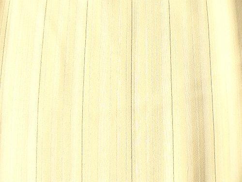 Popelka - žlutý proužkovaný šifon se zlatou nitkou