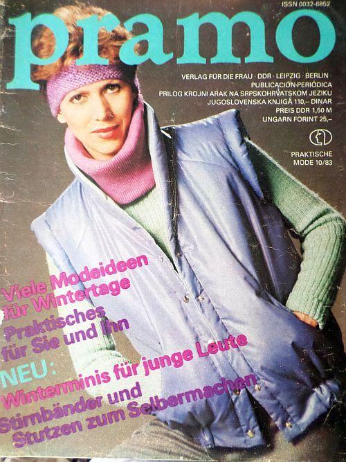 PRAMO 10/1983 RETRO v němčině