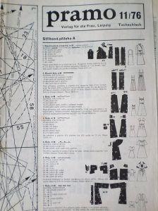PRAMO 11/1976 RETRO v němčině