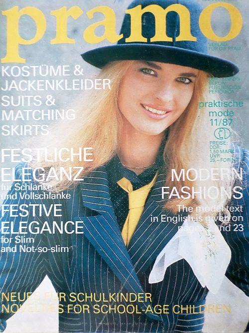 PRAMO 11/1987 RETRO v němčině
