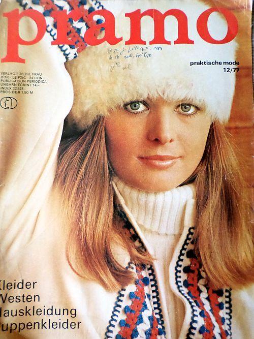 PRAMO 12/1977 RETRO v němčině