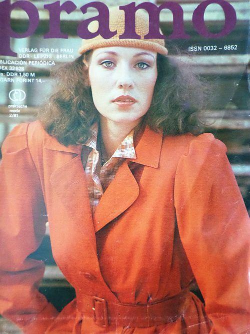 PRAMO 2/1981 RETRO v němčině
