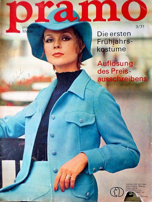 PRAMO 3/1971 RETRO v němčině