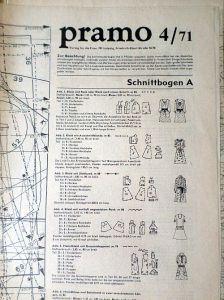 PRAMO 4/1971 RETRO v němčině