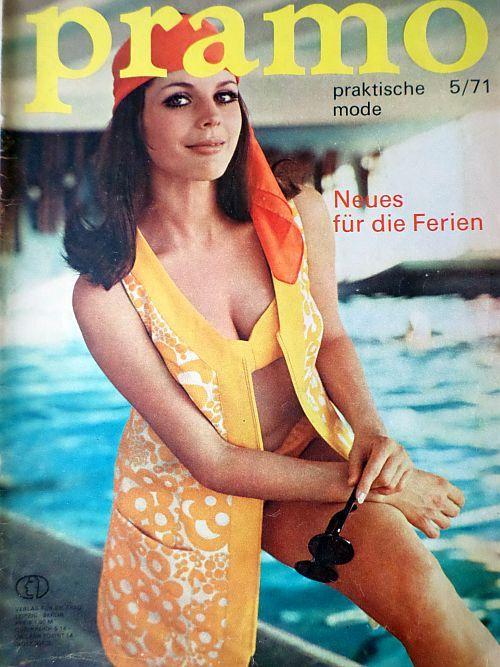 PRAMO 5/1971 RETRO v němčině